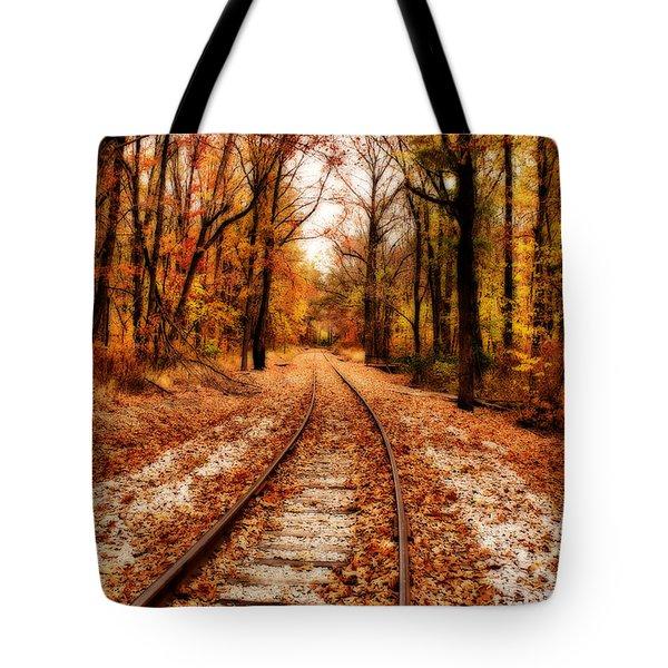 Eastbound Tote Bag by Sandy Keeton