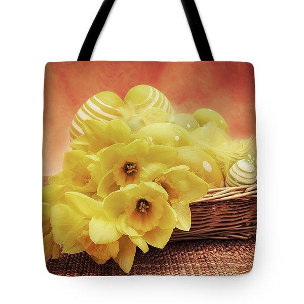 Easter Basket Tote Bag