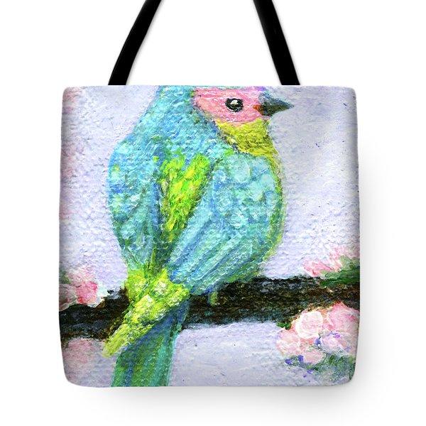 Easter Bird Tote Bag