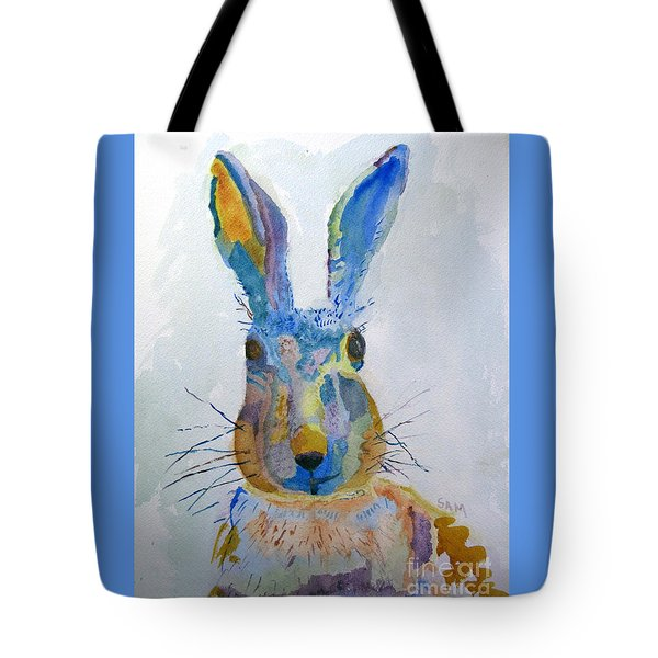 Easter Bunny Tote Bag by Sandy McIntire