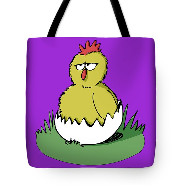 Easter Chicken Tote Bag