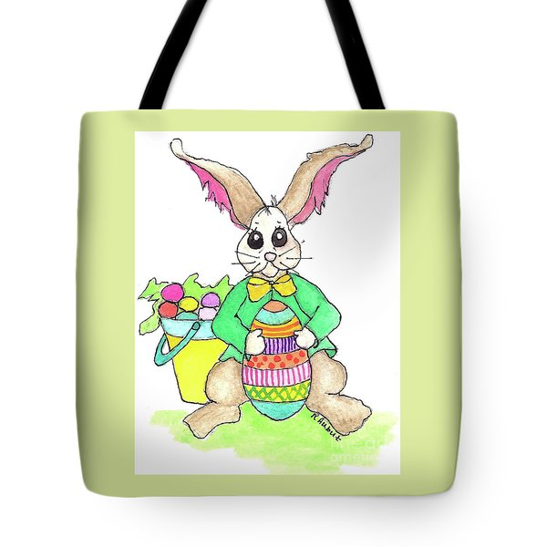 Tote Bag featuring the painting Easter Collection  by Rosemary Aubut