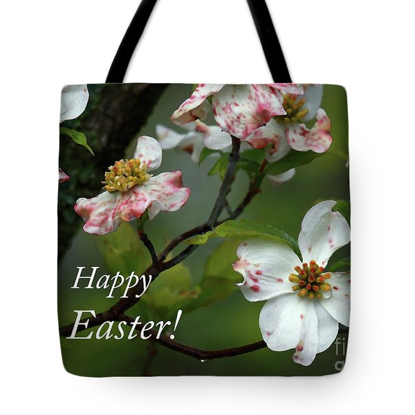 Tote Bag featuring the photograph Easter Dogwood by Douglas Stucky