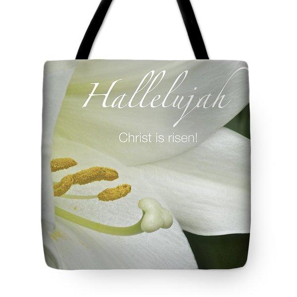 Easter Hallelujah Tote Bag