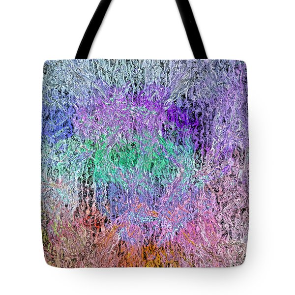Tote Bag featuring the digital art Easter In The Park by Matt Lindley