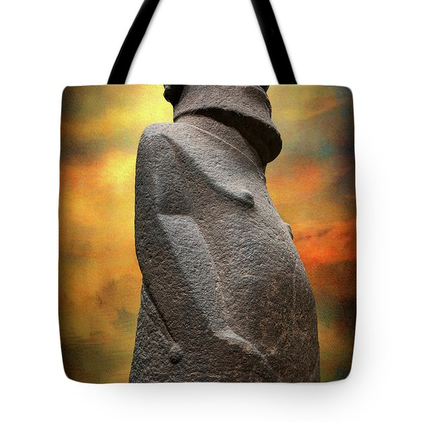 Tote Bag featuring the photograph Easter Island Moai by Adrian Evans