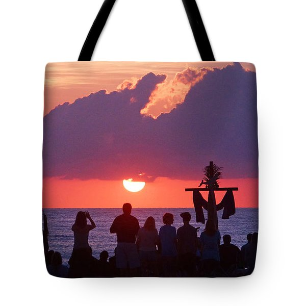 Easter Sunrise Beach Service Tote Bag