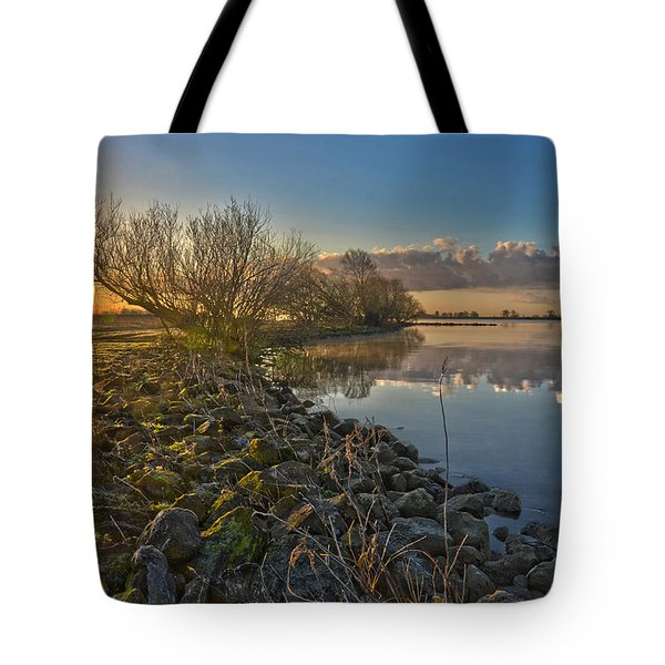 Tote Bag featuring the photograph Easter Sunrise by Frans Blok