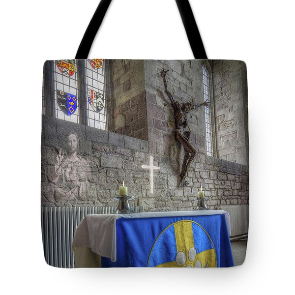 Tote Bag featuring the photograph Easter  The Resurrection Of Jesus by Ian Mitchell