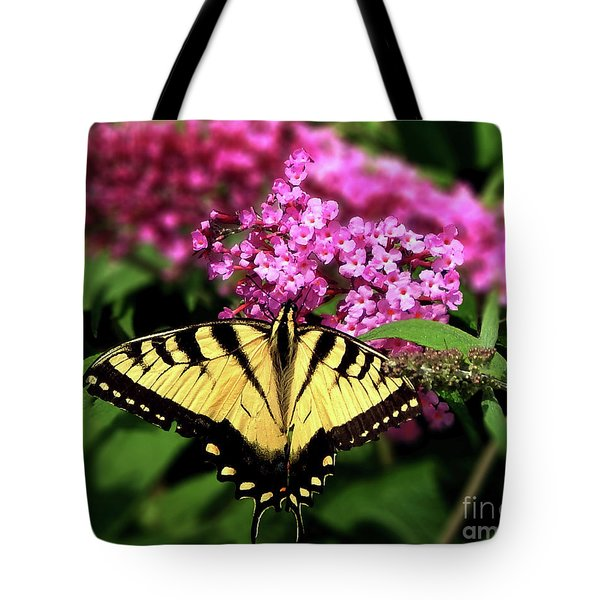 Eastern Tiger Swallowtail Butterfly Tote Bag