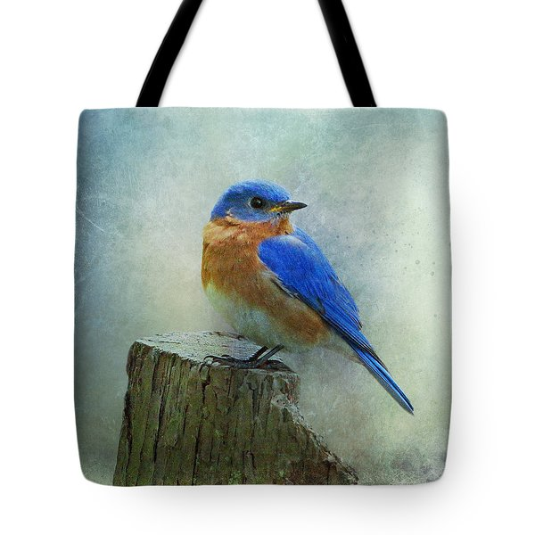 Eastern Bluebird II Tote Bag