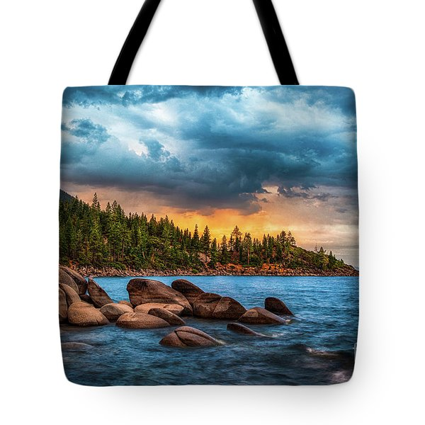 Eastern Glow At Sunset Tote Bag