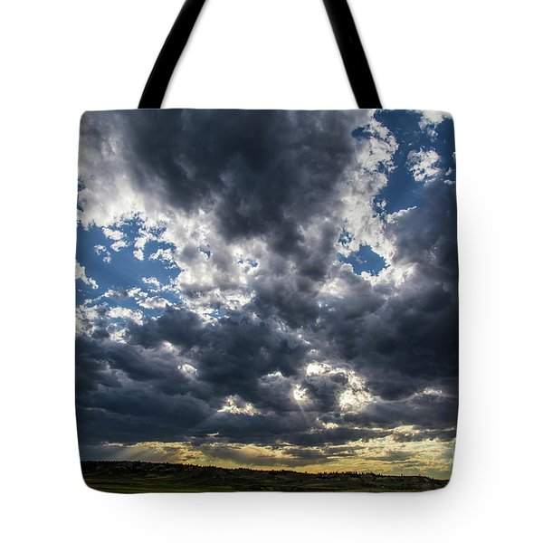 Eastern Montana Sky Tote Bag by Shevin Childers