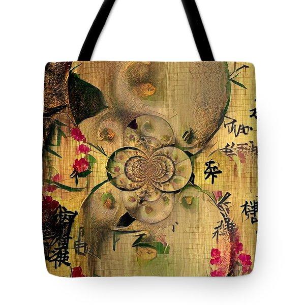 Eastern Motif Tote Bag