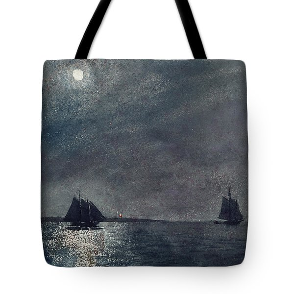 Eastern Point Light Tote Bag by Winslow Homer
