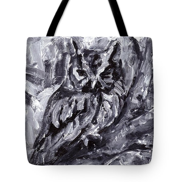 Eastern Screech-owl Tote Bag