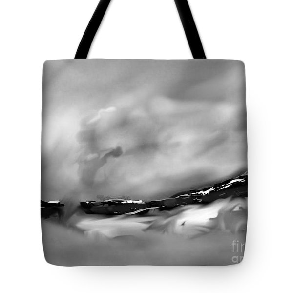 Eastern Sierra Impression Near Whiney Portal Road Tote Bag