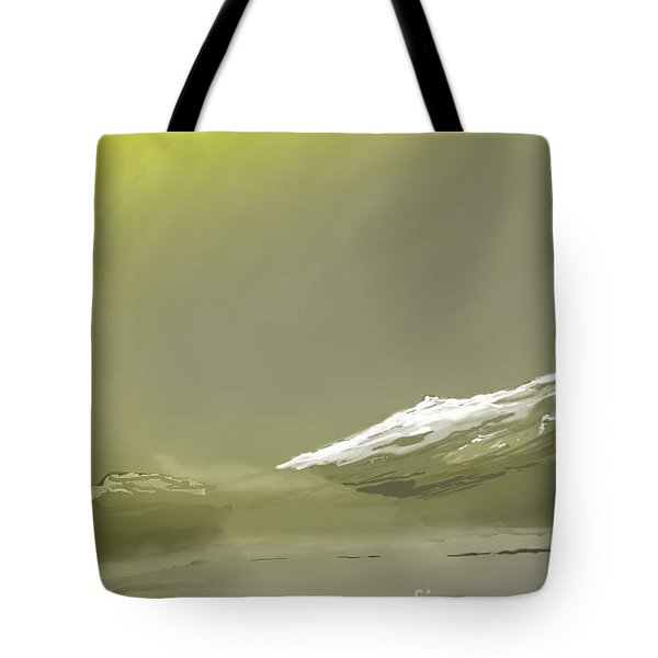 Eastern Sierra Sunrise Tote Bag