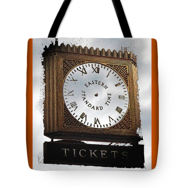 Tote Bag featuring the photograph Eastern Standard Time by Christopher Woods