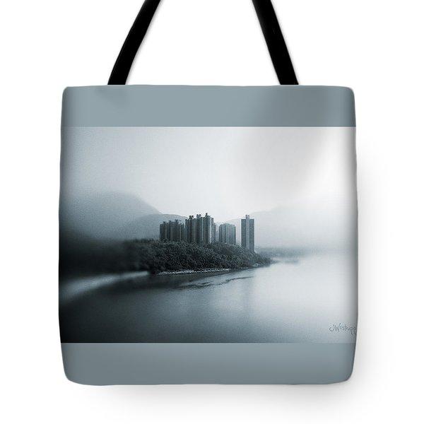 Eastern Stream Tote Bag