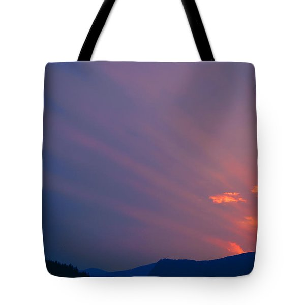 Eastern Sunrise Tote Bag