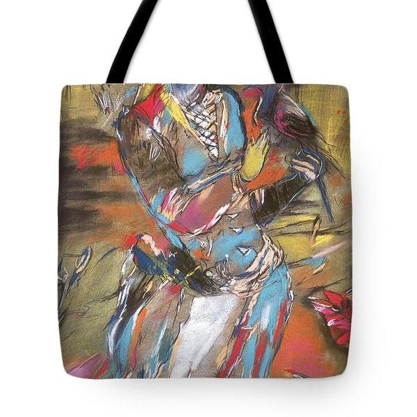 Eastern Tapestry Tote Bag