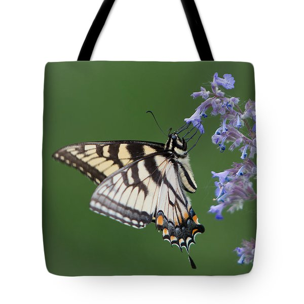 Eastern Tiger Swallowtail Profile Tote Bag by Patti Deters