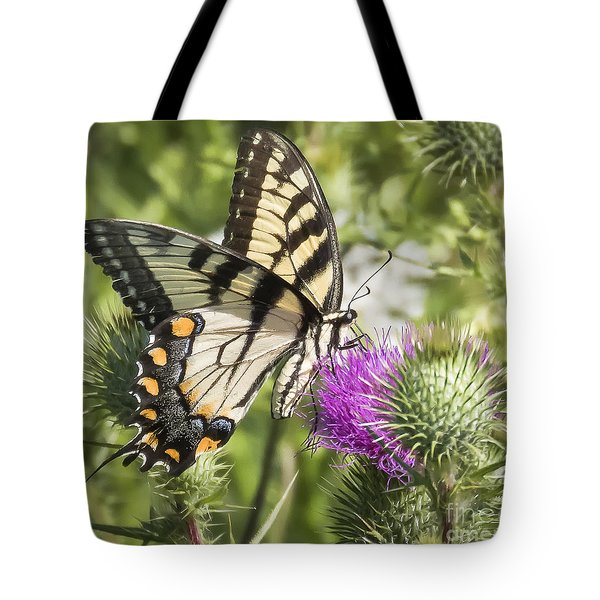 Eastern Tiger Swallowtail Tote Bag by Ricky L Jones