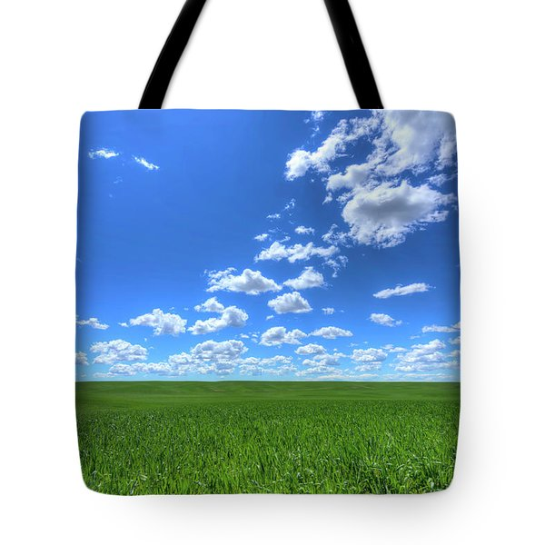 Eastern Washington Screensaver Tote Bag