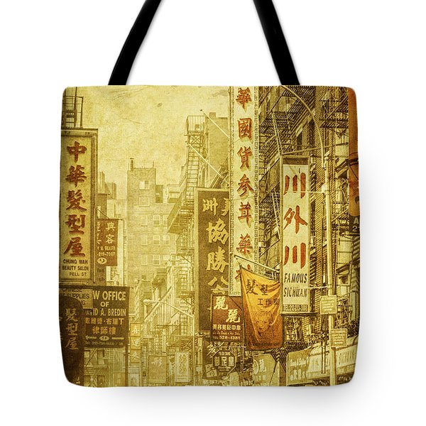 Eastern West Tote Bag by Andrew Paranavitana
