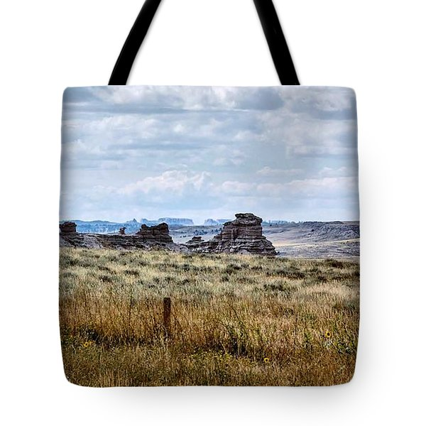 Eastern Wyoming Sky Tote Bag