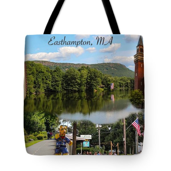 Easthampton Ma Collage Tote Bag