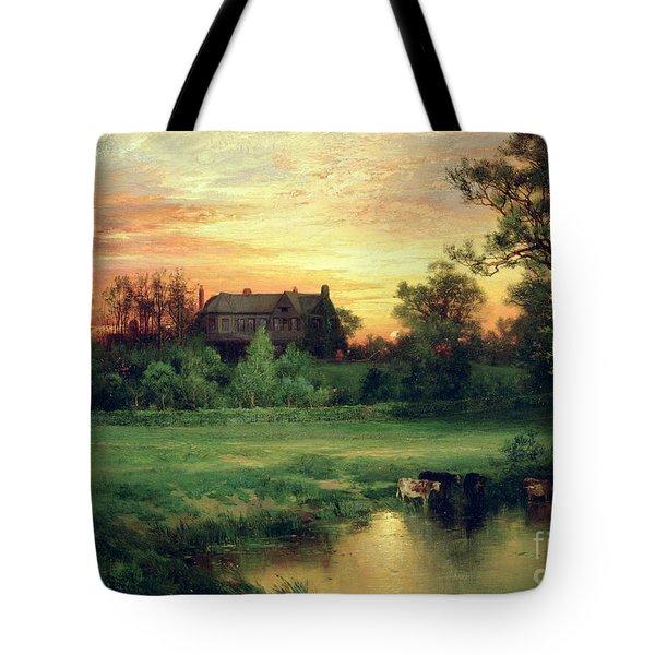 Easthampton Tote Bag by Thomas Moran