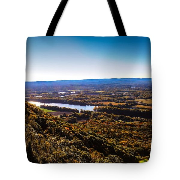 Easthampton View From Summit House Tote Bag