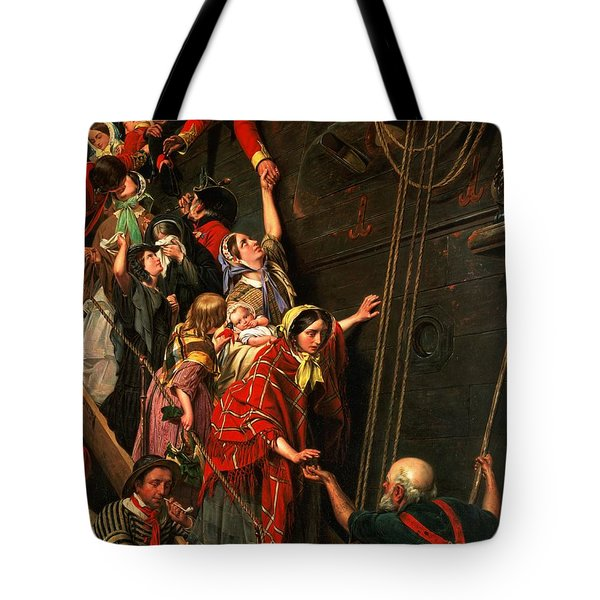 Eastward Ho Tote Bag by Henry Nelson ONeil