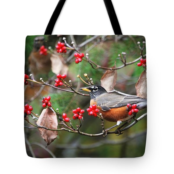 Easy Pickings Robin Tote Bag