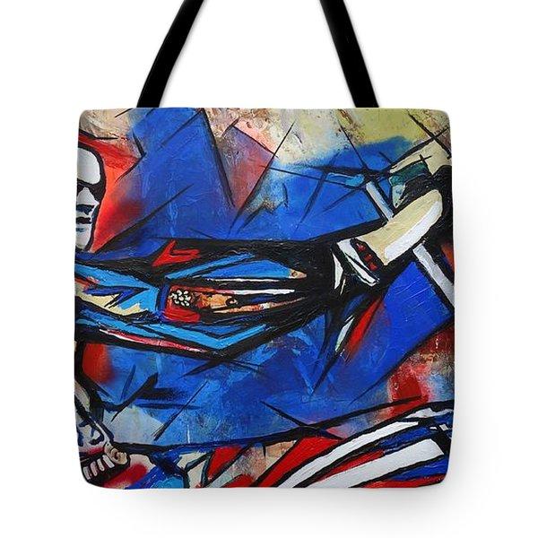 Easy Rider Captain America Tote Bag