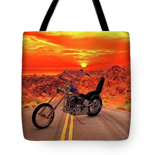 Easy Rider Chopper Tote Bag