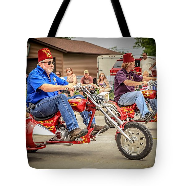 Easy Rider Tote Bag by Ray Congrove