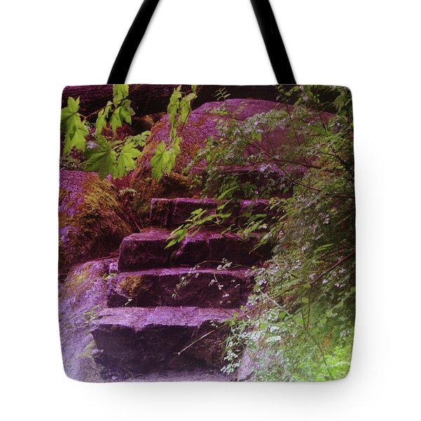 Easy Steps  Tote Bag by Jeff Swan