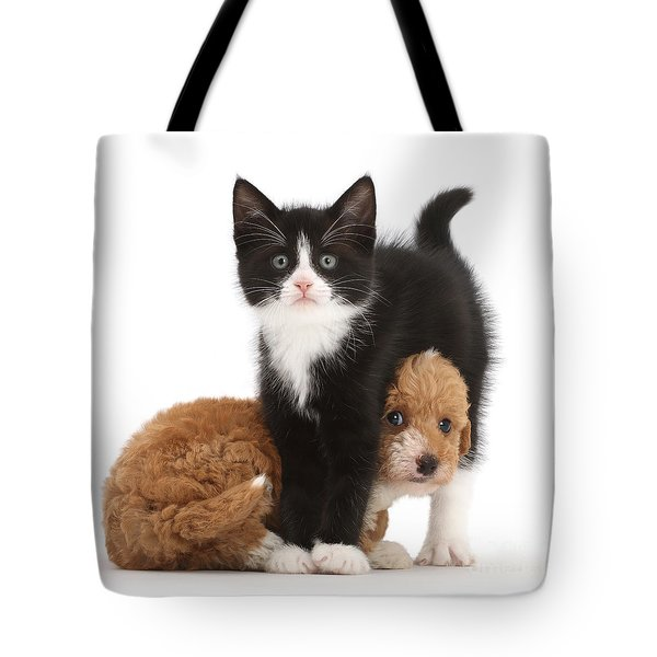 Easy To See Which One Of Us Is The Boss Tote Bag