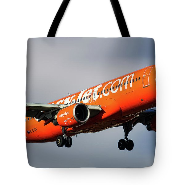 Easyjet 200th Airbus Livery Airbus A320-214 Tote Bag