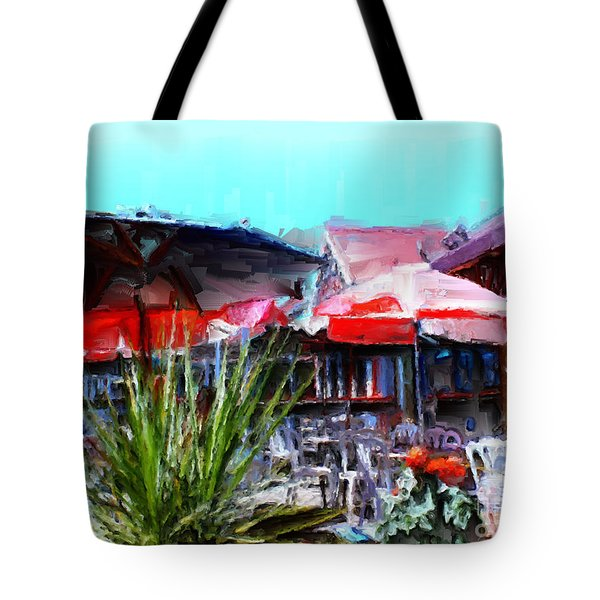 Eat At Joe's Tote Bag by Methune Hively