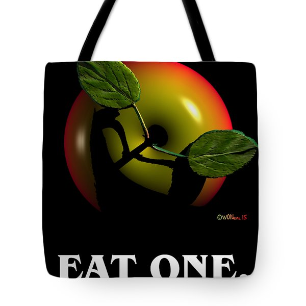 Eat One  Tote Bag