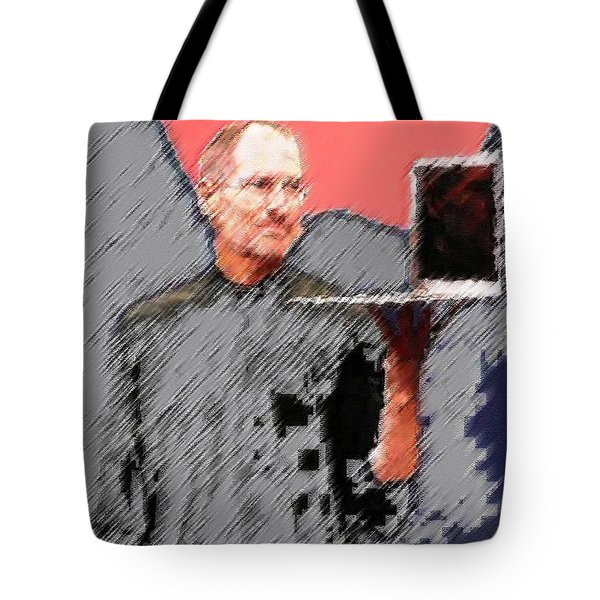 Eaten Apple Of Steve Jobs Tote Bag