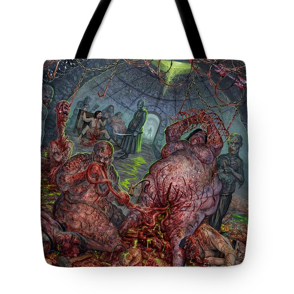 Eating The Stench Tote Bag by Tony Koehl