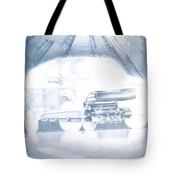 Eaton Electric Van Tote Bag