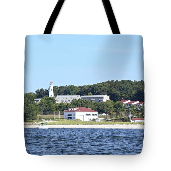 Eatons Neck Lighthouse Tote Bag