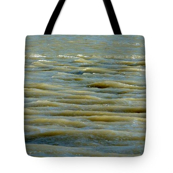 Tote Bag featuring the photograph Eaux Vertes by Marc Philippe Joly