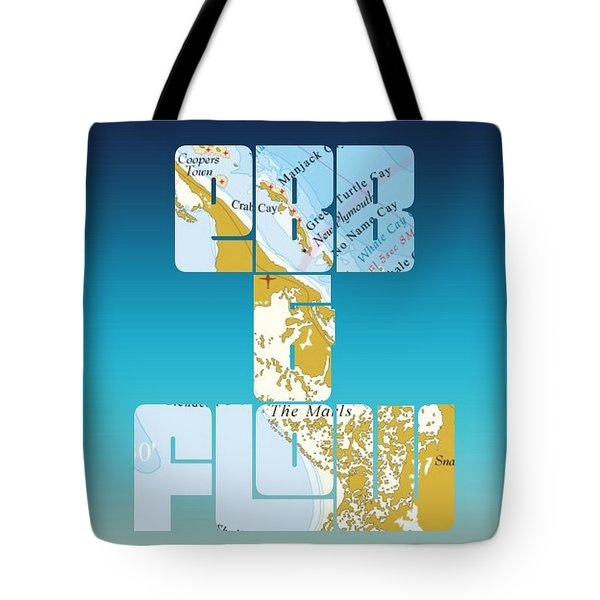 Ebb And Flow Bahamas Tote Bag